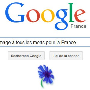 Google rend hommage à tous les morts pour la France [Doodle]