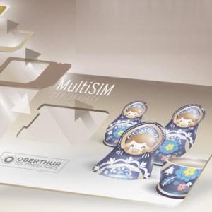 Oberthur Technologies invente MultiSIM, la première carte SIM associant tous les formats de SIM