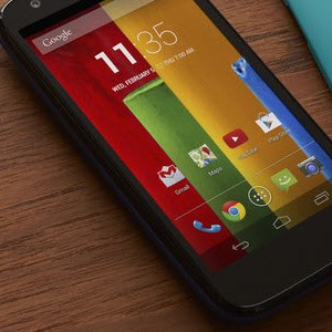 Motorola officialise le Moto G et sera disponible en Europe!