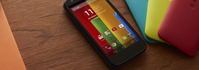 Motorola officialise le Moto G et sera disponible en Europe!