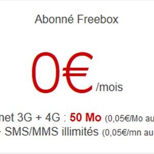 Free Mobile étend la 4G à son offre à 2€ et en profite pour ajouter les MMS