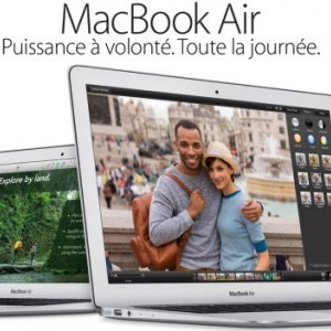Nouveaux MacBook Air version 2014, plus puissants et moins chers