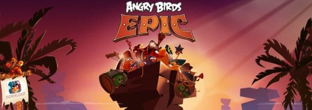 Angry Birds EPIC est disponible au téléchargement sur iOS, Android et Windows Phone