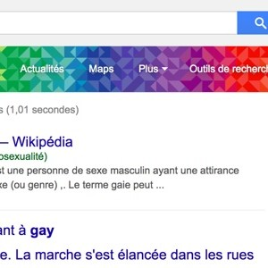 "Gay Pride : tapez ""gay"" et admirez l'easter egg Google"
