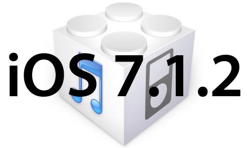 l'iOS 7.1.2 est disponible au téléchargement [liens directs]