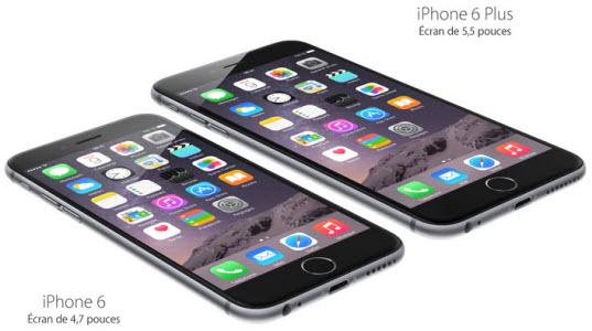 Les iPhone 6 et iPhone 6 Plus sont disponibles!