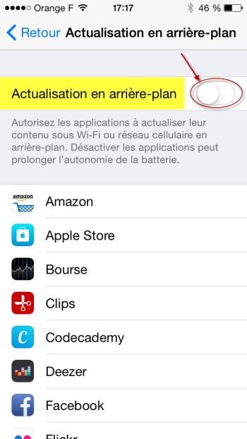 Comment augmenter l'autonomie de votre iPhone 6 et des autres appareils iOS par la même occasion?
