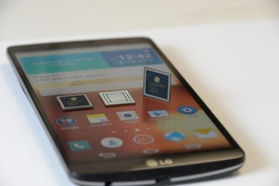 LG G3 Screen : le 1er smartphone LG muni du processeur Octo-Core NUCLUN