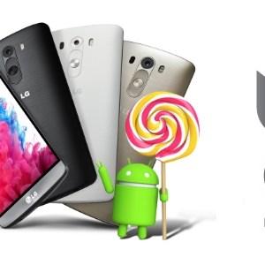 LG G3 : la mise à jour Android 5.0 est disponible en France