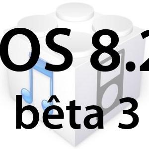 L'iOS 8.2 bêta 3 est disponible pour les développeurs