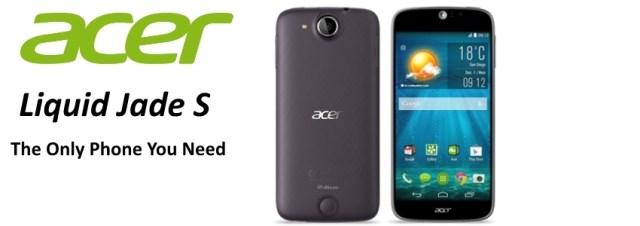 Lancement officiel du Acer Liquid Jade S en Europe : prix, disponibilité et caractéristiques