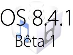 L'iOS 8.4.1 bêta 1 est disponible pour les développeurs