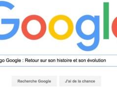 Nouveau logo Google : retour sur son histoire et son évolution
