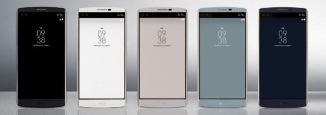 LG dévoile son LG V10, un smartphone haut de gamme muni d'un double écran