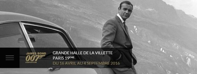 James Bond 007 : une expo pour le 50ème anniversaire et la sortie du DVD / Blu-Ray Spectre