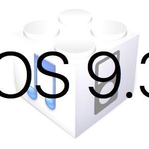 L'iOS 9.3 est disponible au téléchargement [liens directs]