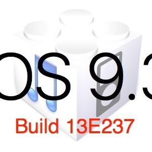 La nouvelle version de l'iOS 9.3 est disponible au téléchargement [liens directs]