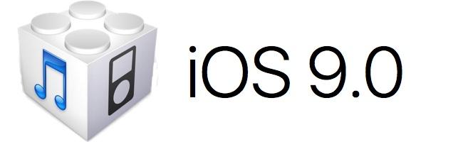 Télécharger (download) l'iOS/firmware 9.0