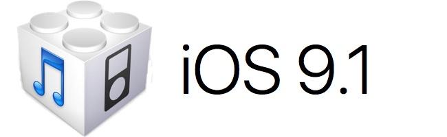 Téléchargez (download) l'iOS/firmware 9.1