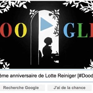 Google fête le 117ème anniversaire de Lotte Reiniger [#Doodle]