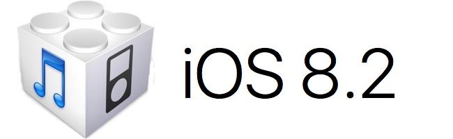 Téléchargez (download) l'iOS/firmware 8.2