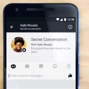 """Facebook va proposer le chiffrement des conversations sur Messenger via une fonction """"Conversation secrète"""""""