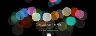 iPhone 7 : Apple officialise la tenue d'une Keynote pour le 7 septembre 2016