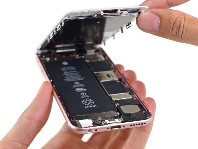 Apple remplace les batteries défectueuses de certains iPhone 6S