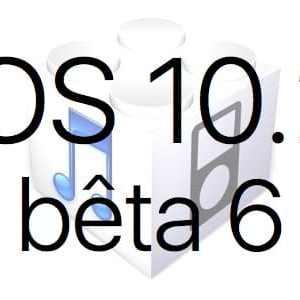 L'iOS 10.2 bêta 6 est disponible pour les développeurs et en bêta publique