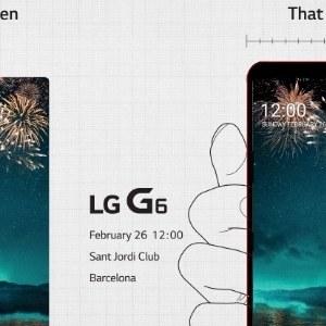 LG confirme la présence du LG G6 au #MWC2017
