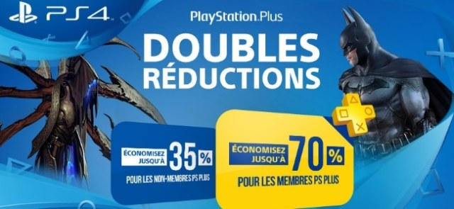 PlayStation Plus : faites le plein de jeux grâce aux doubles remises !