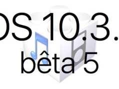 L'iOS 10.3.3 bêta 5 est disponible pour les développeurs