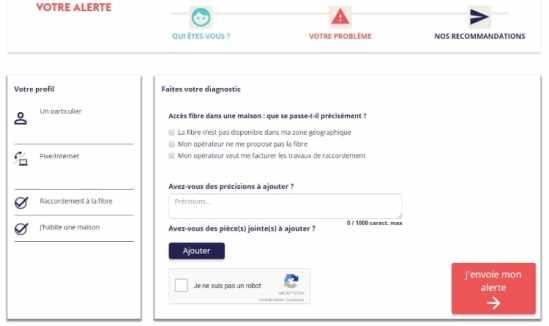 J'alerte l'Arcep : un nouvel outil pour défendre les consommateurs