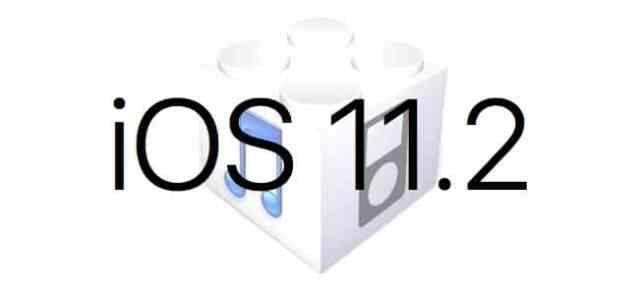 L'iOS 11.2 est disponible au téléchargement [liens directs]