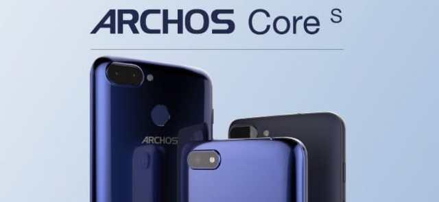 #MWC2018 : Archos dévoile 3 nouveaux appareils Archos Core