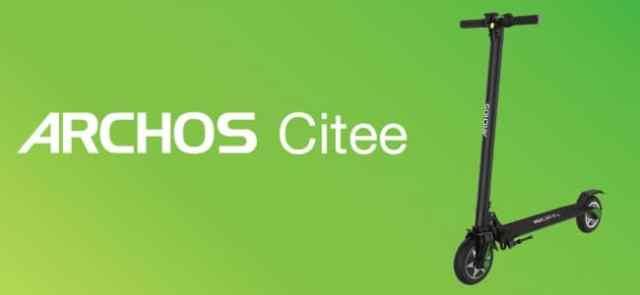 #MWC2018 - Archos présentera sa trotinette électrique connectée, la Archos Citee Connect