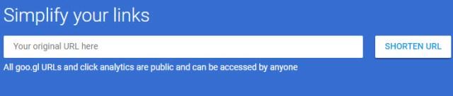 Google va arrêter son raccourcisseur d'URL, Goo.gl