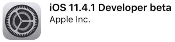 L'iOS 11.4.1 bêta 1 est disponible pour les développeurs