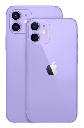 Apple annonce la couleur mauve pour iPhone 12 et iPhone 12 mini
