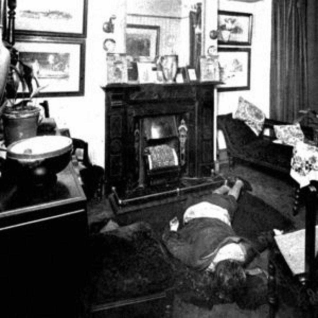 Julia Wallace Crime Scene