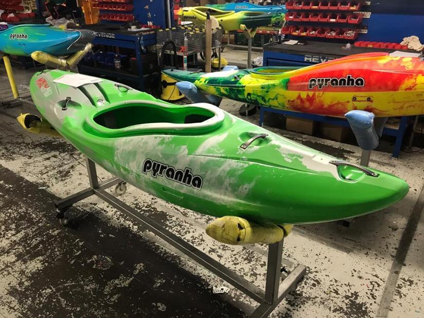 Pyranha Kayaks - Custom Colours