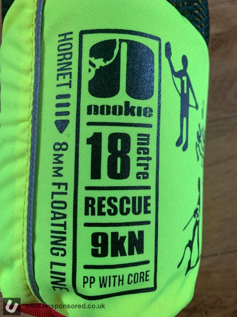 Nookie Hornet 18m Rescue Throwline
