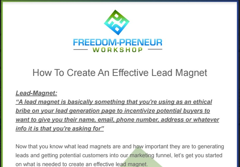 effective-lead-magnet