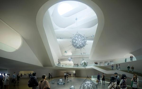 Modern Art Museum Architecture in China