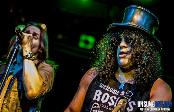 Now that's entertainment. Foxy Shazam and Slash featuring Myles Kennedy and The Conspirators at Bogart's in Cincy!