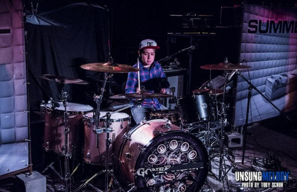Whatever It Takes. An Interview with Austin Rios, Digital Summer's 12 year old drummer.