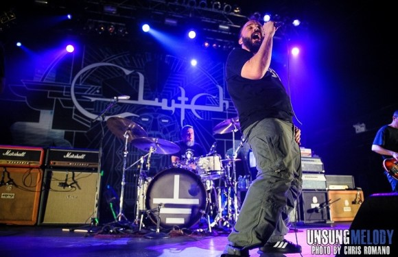 Clutch featuring The Sword and Lionize at Terminal 5 in NYC