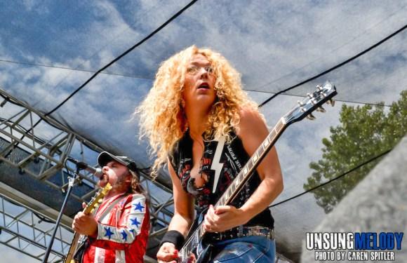Nashville Pussy at The Hootenanny Festival in Silverado Canyon, CA