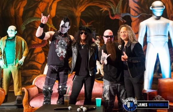 Kirk Hammett's Fear FestEVIL at the Regency Ballroom in San Francisco, CA