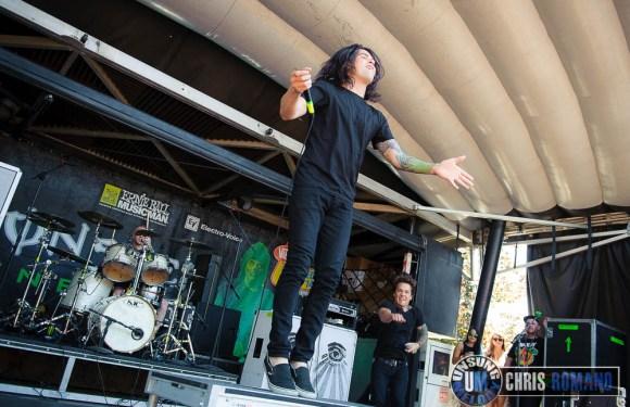 Vans Warped Tour 2014: Born of Osiris at the Vans Warped Tour in Holmdel, NJ